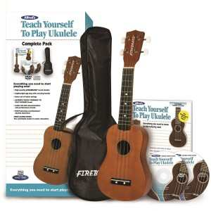 Alfred's Teach Yourself to Play Ukulele, Complete Starter Pack - - Cheap Ukulele