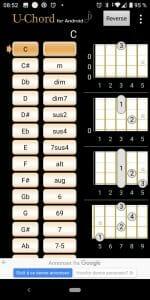 Ukulele chords Android app